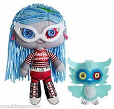 MONSTER HIGH GHOULIA YELPS AND SIR HOOTS A LOT