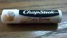 ChapStick, CAKE BATTER, SKIN PROTECTANT, SUNSCREEN SPF 12, .15 OZ.