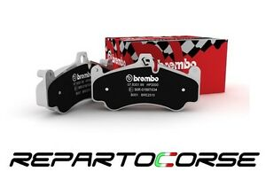 Pads Front Sports Brembo HP2000 Fiat 500 1.4 Abarth -tribute Ferrari