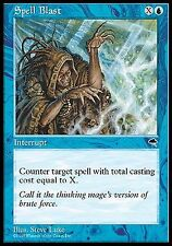 Spell Blast   EX/NM   x4     Tempest MTG Magic Cards Blue