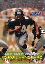 BYRON HANSPARD 1997 Stadium Club RC - 1st FIRST DAY ISSUE - Falcons RC