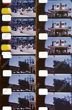 8mm Home Movie SAN DIEGO HARBOR 1964 U.S. NAVY Ships Vessels Sailors Coastline