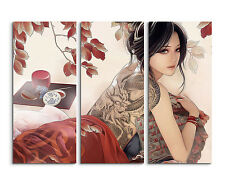One/_Piece/_Luffy Wandbild Panorama Leinwand Sinus Art 130x90cm