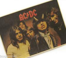 Australia AC/DC Rock Star Classic Poster Pub Bar Home Decor Collection
