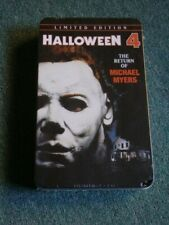 HALLOWEEN 4 DVD Limited Edition TIN EDITION--FACTORY SEALED NO:04968