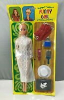 BARBIE Clone Doll FASHION copy Funny Girl VINTAGE old Peggy Plasty Petra Puppe