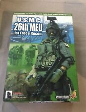 "Hot Toys 1/6 Scale 12"" USMC 26th MEU 1st Force Recon Action Figure"