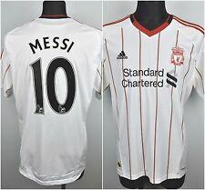 FC LIVERPOOL x MESSI Home Shirt Men's Large 2010 Jersey Trikot Mallot L Maglia