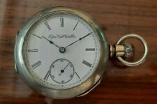 Old  1897 ELGIN. 124 Years old Pocket Watch 18S 7J. Just Serviced.