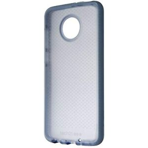 Tech21 Evo Check Series Protective Gel Case for Motorola Moto Z4 - Shark Blue