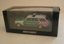 Mercedes-benz W 123 T-modelo 250 TD policía Berlin-Minichamps 1:43!