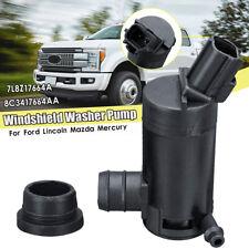 Windshield Washer Pump Set For Ford F150 F250 F350 F450 Explorer 7L8Z17664A