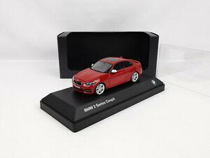 BMW série 2 coupé (F22) (2014-2017) rouge 1/43 Minichamps