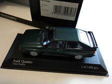 Minichamps 1/43 Audi Quattro 1981 green metallic