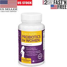 Flora Bloom Probiotics for Women Supplement Feminine Formula for UTIS and GBS