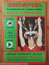 Away Teams L-N European Cup Final Football Programmes