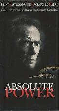 Absolute Power (VHS, 1997) Clint Eastwood; -  Brand New! - FREE SHIPPING!
