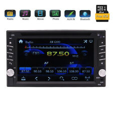 Double 2Din Car Stereo GPS Navigation CD DVD Player 6.2