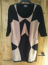 New Apricot Fitted Knit Bodycon Dress size L 14-16 from New Look