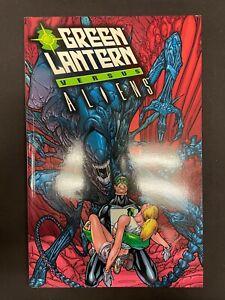 Green Lantern Versus Aliens TPB Graphic Novel DC Dark Horse First Edition 2001