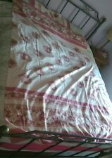 VINTAGE RETRO BEAUTIFUL FLORAL SINGLE BED DUVET QUILT COVER  PILLOW CASE BEDDING
