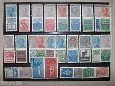 1924 regno francobolli pubblicitari  23 valori nuovi s.g. serie completa