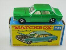 53-A Ford Zodiac Mk. IV  - 53124 Matchbox Superfast