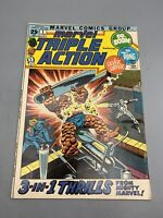 Marvel Triple Action #1 1972 Silver Surfer Dr. Doom Thing