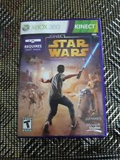 Xbox 360 Kinect game inc Kinect Star Wars Excellent