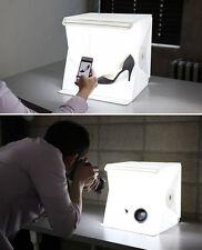 "LUCE SALA STUDIO FOTOGRAFICO 9 ""Fotografia Illuminazione Kit Tenda Luce Cubo MINI BOX"