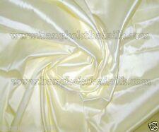 BUTTER CREAM 100% PURE SILK FABRIC for BRIDESMAID DRESS SKIRT SHIRT