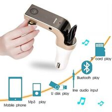 US STOCK Bluetooth Transmitter FM MP3 Radio Player USB Charger&AUX Set Universal