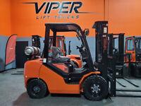 2021 VIPER FY30 FORKLIFT 6000LB KUBOTA ENGINE 3 YEAR WARRANTY NEW FORKLIFT!!!