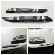 Pair Front Bumper Chrome Trim Strip Molding Cover For Citroen C5 2008-2015