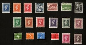 Netherlands 1944-47 Mixed Lot of 14 Stamps Hinged
