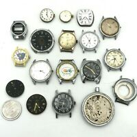 WHOLESALE Soviet Swiss Watch PARTS Raketa Luch Slava Pobeda Poljot Vostok Condor