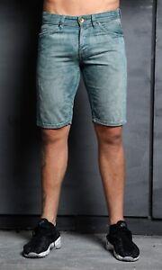 NEW Mens Stylish Jeans Denim Quality Shorts - LIGHT STONE - SIMPLY JEANS