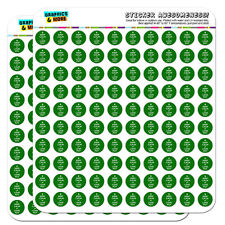 "Keep Calm And Love Pot Marijuana Weed 0.5"" Scrapbooking Crafting Stickers"