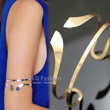 Egypt Bar Curve Geo Open Upper Arm Cuff Armlet Armband Bangle Bracelet Gift