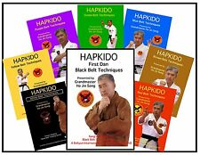 BLACK BELT HAPKIDO SELF DEFENSE DVD SYSTEM GRAND MASTER HO JIN SONG SERIES