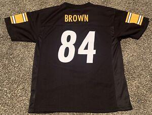 NWOT NFL TEAM Apparel Pittsburgh Steelers Youth #84 Antonio Brown Jersey XL YXL