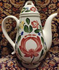 "Portmerion Welsh Dresser Coffee Pot 10.25"" Tall Mint"