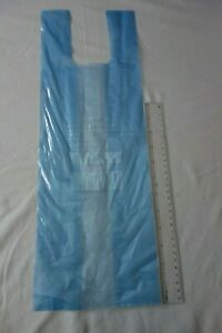 TIE HANDLE FOOD & FREEZER STRONG STORAGE PLASTIC BAGS SIZE LARGE
