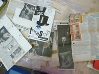 Theatre Programme +Press Cuttings TRAVESTIES - JOHN WOOD JOHN HURT TOM BELL