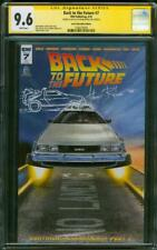 Back to the Future 7 CGC SS 9.6 Riches DeLorean Original art sketch Variant 2016