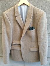 Shipley & Halmos Wool Tweed Jacket Blazer Size 42 Two Button $595 Nice!
