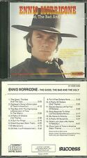 RARE / CD - ENNIO MORRICONE : THE GOOD, THE BAD AND THE UGLY / CLINT EASTWOOD
