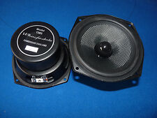 "British Wharfdale 4.5"" Mid / Low Woofer Driver. One Pair.Brand New."