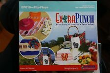 Extra Punch Embroidery Cd flip flops