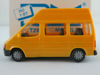 Rietze 10610 Ford Transit Bus HD (1986-1991) in chromgelb 1:87/H0 NEU/OVP